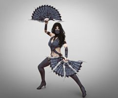 MKX Kitana by deexie