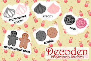 Basic Decoden Brushes by churien