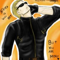 Hot Wesker in Africa by Mylin-San