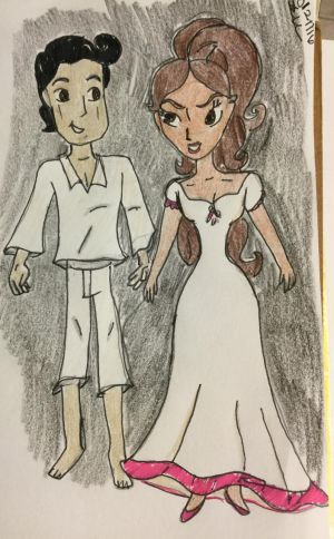 Manolo and Maria nightclothes by Paleogirl47