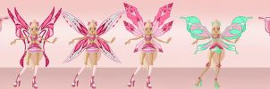 CP: ''Giero'' Believix Set by Aryl-Phoenix