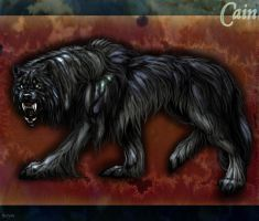 Cain  the werewolf by TheTyro