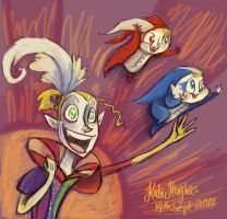 Kefka: Fly My Pretties by Alias-Hugo