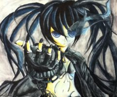 Black rock shooter by Vanguard204