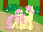 Our First Date...(20% Cooler) by Starry-Bat1