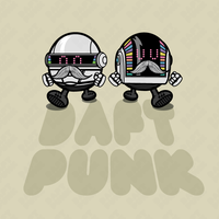 Daft Moustache by j3concepts