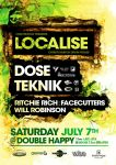 Localise - Gig Flyer v2 by Crittz