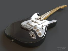 Guitar Stratocaster by Little-Nemesis
