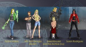Dresden Files characters 3 by wildcard24