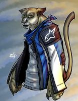 Riley the puma commission by ZipDraw