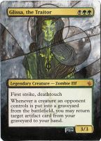 Magic Card Alteration: Glissa, the Traitor by Ondal-the-Fool