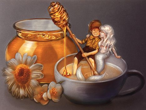 Milk and Honey by DolceCaramella
