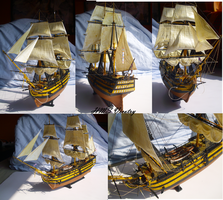 HMS Victory by Teratophoneus