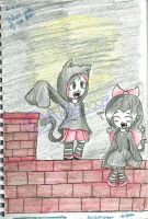 Black Cats of the EveDraculina and Din version by Nite3007