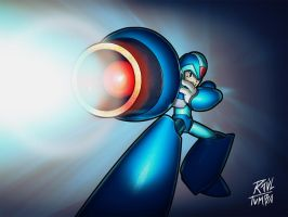 Megaman Tribute by raultumba