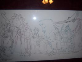 Ultimate Mulan_Detail right by tombancroft
