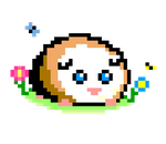 Guinea pig Pixels by ThePigPatch