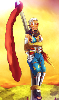 [COM] Captured Impa by Queen-Zelda