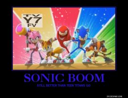 Sonic Boom Demotivational by lightyearpig
