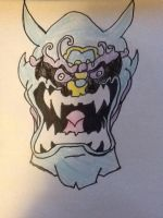 Oni Mask by Wallsofjericho316