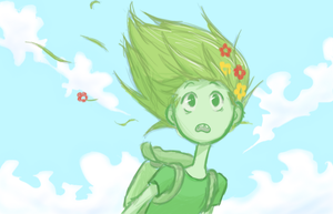 Fern the Human (Grass Finn) by Zionthe2
