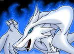 Reshiram Used Blue Flare by VernFeathers