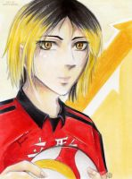 Kenma Portrait by Khallandra