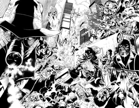 Blackest Night JSA 01 pages 06-07 by julioferreira