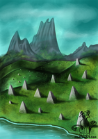 Field Of Shrines by MadMooCow