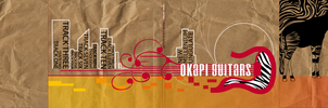 Okapi Guitars CD cover by sharkaholic