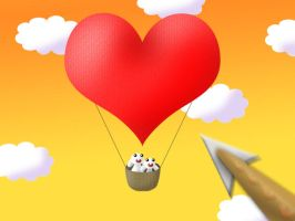 Valentine Balloon by hyky
