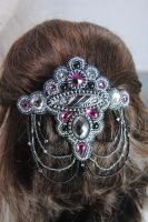 Crown Jewel Barrette by GoodQuillHunting