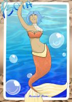 PsoTA Mermaid Meme- Ella by blossomsakuraXx