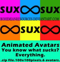 Everything SUX avatars by BohemianResources