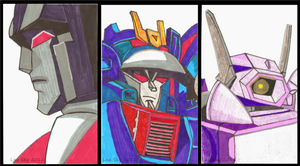 TF SCs Decepticons by ActorzInc