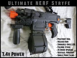 Ultimate NERF Stryfe final by MarcWF