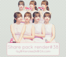 Share pack render #38 Park Bo Young by KeroLee2k