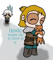 Poor Fenris by THUNDRkitty