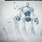 Iron Giant by chukw