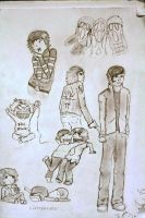 Random My Chemical Romance Sketches by MuUse77
