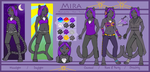 Mira - Reference Sheet by Neko-Maya