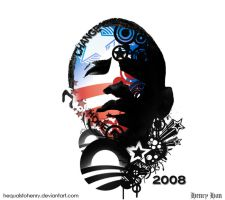 Obama' 08 by hequals2henry