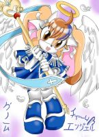 Charm Angel-Cream as Licole by mino-the-cat
