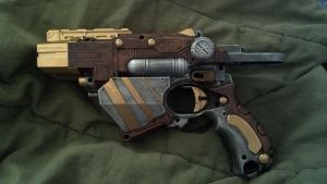 Steampunk Nerf Proton by DrDisco777