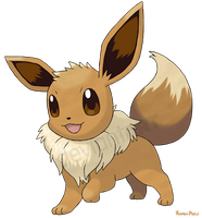 Evoli - Eevee by AlouNea