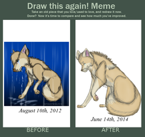 Meme  - Before And After (MorningAfterWolf) by MorningAfterWolf