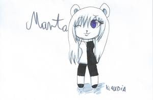 Marta the bear by htfloveAPH