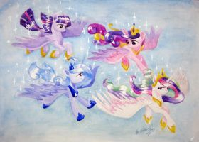 Princess flight - 2 by SkyAircobra