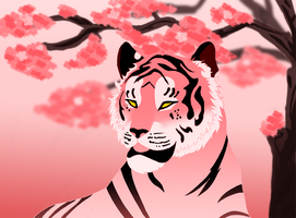 Sakura Tiger by Moose15