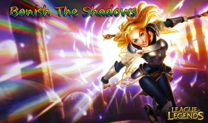 League of Legends- Lux Wallpaper! by Atluss